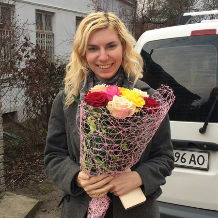 Send flowers to Chernivtsi, Chernivets`ka obl., Ukraine